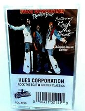 THE HUES CORPORATION Golden Classics Rock The Boat CASSETTE TAPE Factory SEALED