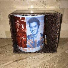 ELVIS PRESLEY KING OF ROCK AND ROLL COLLECTIBLE MUG NEW