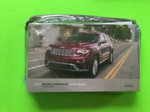 2017 Jeep GRAND CHEROKEE Owner Manual User Guide Set & Case *OEM* NEW!