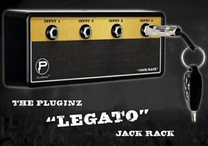 "Jack Rack Pluginz ""The Legato""  Guitar Amplifier 4 Input Plug In Key Holder NIB"