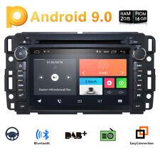 "7"" Android 9.0 Car Gps Nav Dvd Radio For Gmc Chevrolet Chevy Yukon Sierra Acadia"