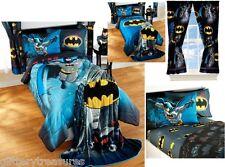 KIDS BOYS BATMAN BEDDING BED IN A BAG / COMFORTER SET - 3 PRINTS