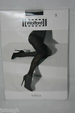 Wolford ~ THELKA ~ opaque tights BNWT ~ Small  UK 10/12 grey  45 denier
