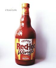Frank's Red Hot Buffalo Wings Sauce X1 680ml Large Glass Bottle