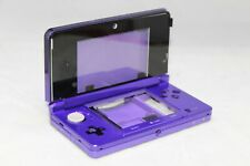 ORIGINAL NINTENDO 3DS CASE REPLACEMENT HOUSING PURPLE SHELL