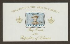 LIBERIA C136 Mint, Never Hinged 1961 Souvenir Sheet BOY SCOUTS