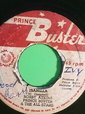 PRINCE BUSTER 45 NEVER NEVER  / ISABELLA  PRINCE BUSTER