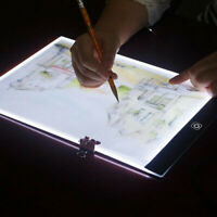 A5 Ultra-thin Portable LED Light Box Tracer USB Dimmable Artcraft Tracing Pad