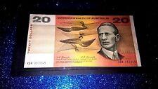 Australia R402.1967 $20 Dollars Coombs/Randall  XBR 357045 PREFIX SCARCE NOTE