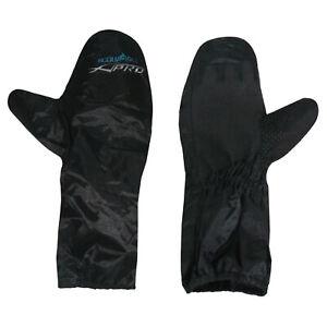 Gloves Cover 100% Waterproof Over Mittens Motorcycle Motorbike Black