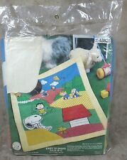 Bucilla Snoopy Crib Quilt Sewing Kit & Toy New Peanuts Characters Made USA