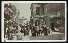 1907 Market Place Melton Mowbray Leicestershire Postcard C760