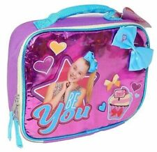 JOJO SIWA NICKELODEON DANCE MOMS PVC & Lead-Safe Lunch Tote Bag Box w/ Bow