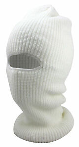 Men Women Ski Mask Beanie Cap Knit Face Mask Winter Hunting Ear Warm Workout Hat
