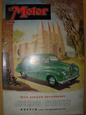 VINTAGE MOTOR MAGAZINE NOVEMBER 21 1951 AUSTIN A70 HEREFORD