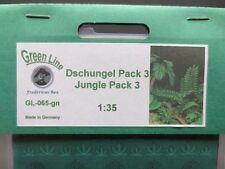 GreenLine Jungle Pack 3 - GL065 - laser cut jungle plants - 1:35 diorama scenery
