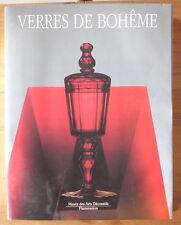 LIVRE LES VERRES DE BOHEME MUSEE DES ARTS DECORATIFS FLAMMARION