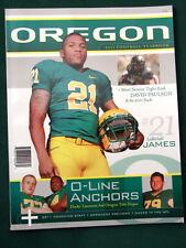 University of Oregon Ducks 2011 Football Yearbook w LaMichael James cover