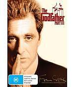 THE GODFATHER 3 / PART III - BRAND NEW & SEALED R4 DVD (AL PACINO, ANDY GARCIA)