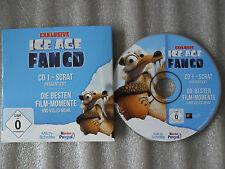 CD ROM-ICE AGE-FAN CD-DIE BESTEN FILM MOMENTE UND VIELES MEHR-VIDEO-GAME-EXTRAS-