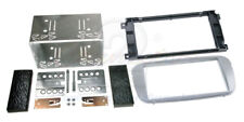 FORD FOCUS Mk2 2007 on Double Din Car Stereo Fitting Kit Facia FD09 Silver