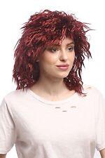 Wig Unisex Carnival Wilde Crepe Curls Afro Latin Look Red Black