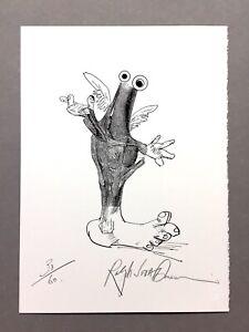 "Ralph Steadman - ""Animal Behaviorist #7"" - GONZO - Signed Lt Ed Print  #30 of 60"
