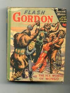 Flash Gordon in the Ice World of Mongo      Big Little Book     1942