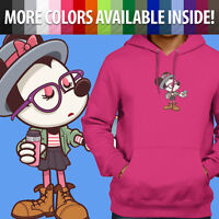 Unisex Pullover Hoodie Sweater Disney Hipster Minnie Mouse Hip Cute Disneyland