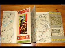 Cartina Geografica Map SVIZZERA SWITZERLAND Fogl1-TCI 41-Magneti Marelli Pirelli