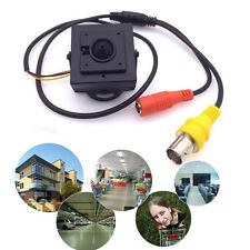 Handy Mini HD 3.7mm Pinhole 700TVL 1/3 CMOS Surveillance Color CCTV Camera #y