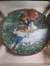 """""""A Time Together"""" by Sandra Kuck, Mother's Day Plate Collection 1989 Box"""