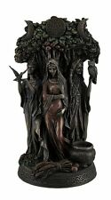 Celtic Triple Goddess Maiden Mother Sculpture And The Crone Statue Figurine