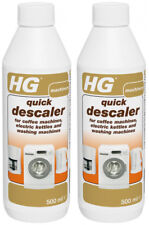 HG quick descaler for coffee machines, electric kettles and washing machines x 2