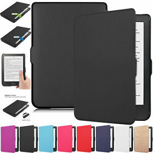 For Kobo Clara HD 2018 Auto Wake/Sleep Smart eReader Magnetic Leather Case Cover