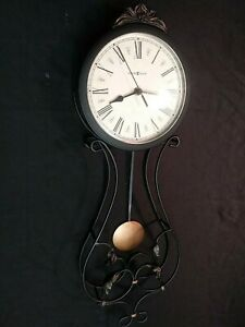 Metal Contemporary Wall Clocks With Pendulum For Sale In Stock Ebay