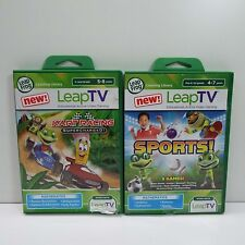 LEAP FROG KART RACING SUPERCHARGED + SPORTS 9 GAMES (LOOK DESCRIPTION) S500