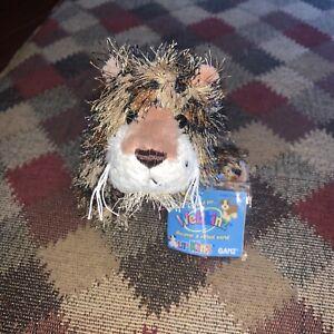 """Ganz Webkinz Lil' Kinz Leopard Plush Toy 7"""" Stuffed Animal HS031 w/ Code NEW"""