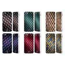 Fundas y carcasas Head Case Designs de plástico de color principal plata para teléfonos móviles y PDAs