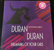 DURAN DURAN 1979 DEMOS Part 2 Dreaming of Your Cars PINK Vinyl  Andy Wickett