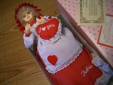 """BRINN COLLECTORS MUSICAL (LET ME CALL YOU SWEETHEART) 12"""" DOLL M/OB OF 100+"""