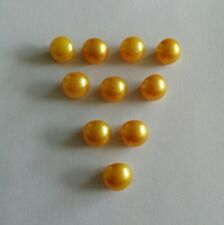 Pearlised Gold Thick Shank Buttons