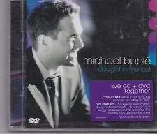Michael Buble-Caught In The Act cd+dvd album set