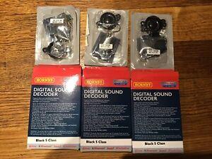 Hornby digital sound decoder Black five class 3X