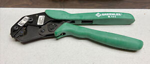 Greenlee K111 - 8 to 1/0 AWG Wire and Cable Crimper - Used