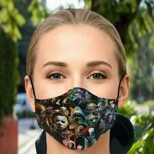 Horror Movie Gods Face Mask Face Mask 3D One Size