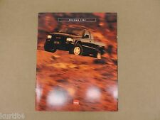 1996 GMC Sonoma SL SLS SLE Original Sales Brochure Dealer Catalog