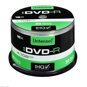 Intenso 16x DVD-R 4.7GB - 50 Discs