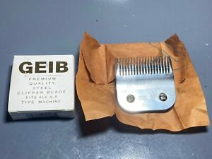 Geib Buttercut Stainless Steel Size # 5F Detachable Clipper Blade New in Box