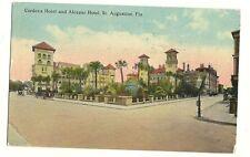 Cordova Hotel Alcazar Hotel St Augustine Florida FL Postcard